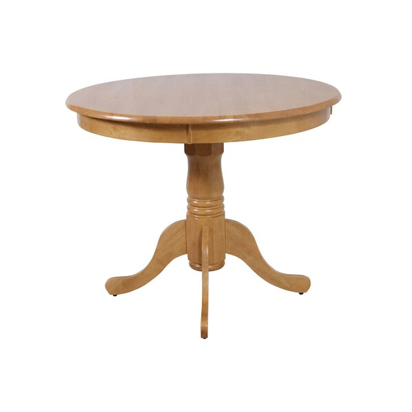 Norcross Solid Wood Dining Table by Highland Dunes