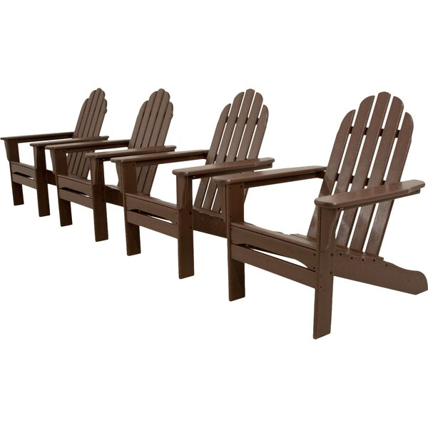 Classics 4-Piece Adirondack Chair Set by Ivy Terrace
