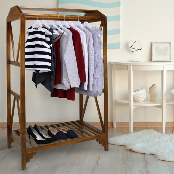 Ivesdale Space Saving Coat Rack by Alcott Hill