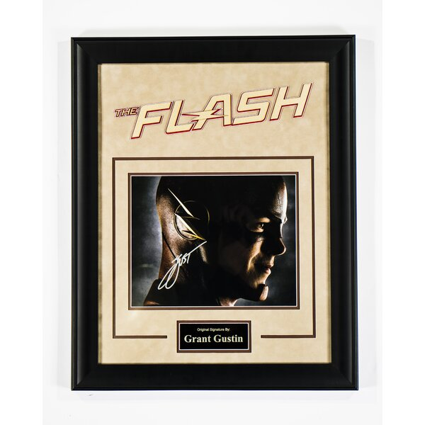 The Flash Framed Autographed Photograph by LuxeWest
