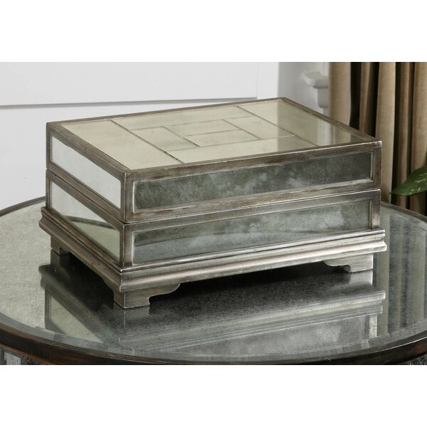 Swind Box in Antique Silver by House of Hampton