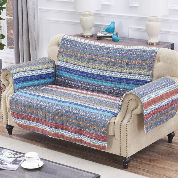 Sawyers Loveseat Slipcover by World Menagerie
