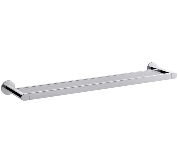 Composed® 24 Wall Mounted Double Towel Bar by Kohler