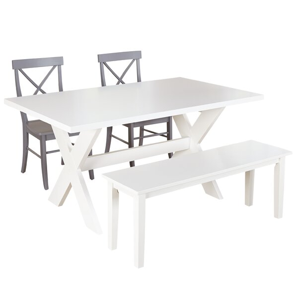 Medulla 4 Piece Dining Set by Beachcrest Home