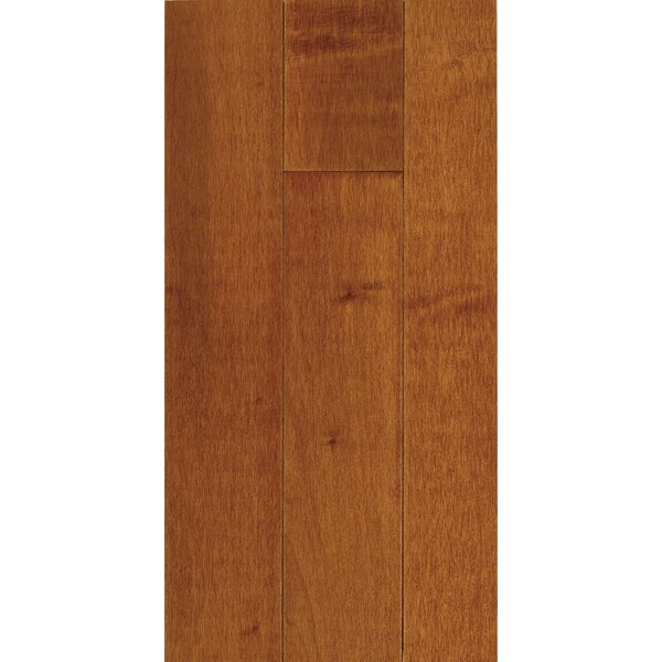 Kennedale Prestige Plank 3-1/4 Solid Maple Hardwood Flooring in Semi Gloss Cinnamon by Bruce Flooring