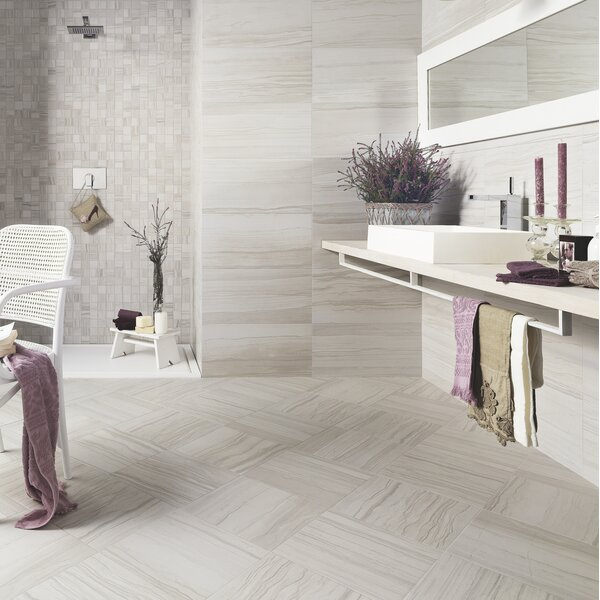 Motion 12 x 24 Porcelain Field Tile in Cue by Emser Tile
