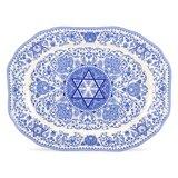 Judaica Oval Platter bySpode