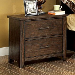 Milton 2 Drawer Nightstand by A&J Homes Studio