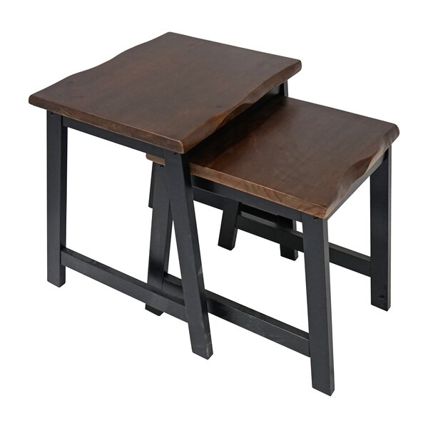 Salazar 2 Piece Nesting Table by Union Rustic