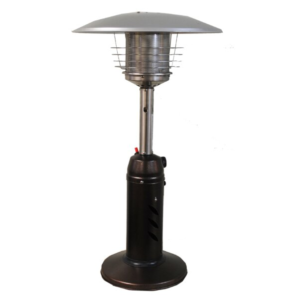 Round 11,000 BTU Propane Tabletop Patio Heater by