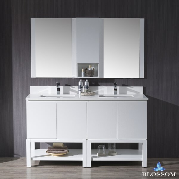Maly 60 Double Bathroom Vanity Set by Orren Ellis