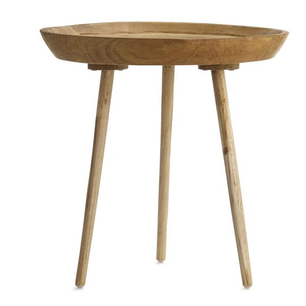 Takara Tall Round End Table by Design Ideas