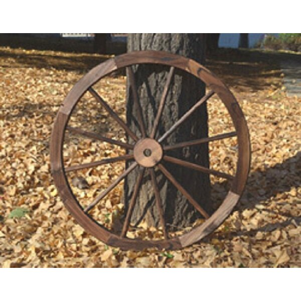 Gardenised Decorative Antique Wagon Garden Wheel & Reviews