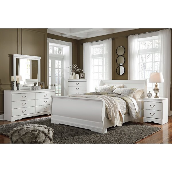 Kurt Sleigh Configurable Bedroom Set by Harriet Bee