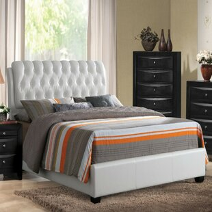 Votaw Queen Upholstered Panel Bed by Latitude Run
