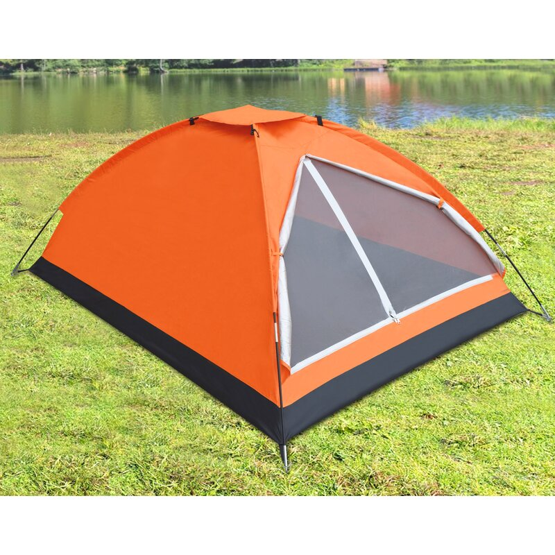 Strongcamel Portable Backpacking Family 2 3 Person Tent Wayfair