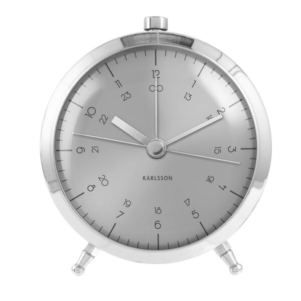 Button Tabletop Clock by Mercury Row