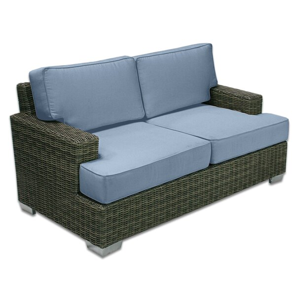 Palisades Love Seat by Patio Heaven