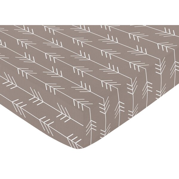 Outdoor Adventure Arrow Fitted Crib Sheet by Sweet Jojo Designs