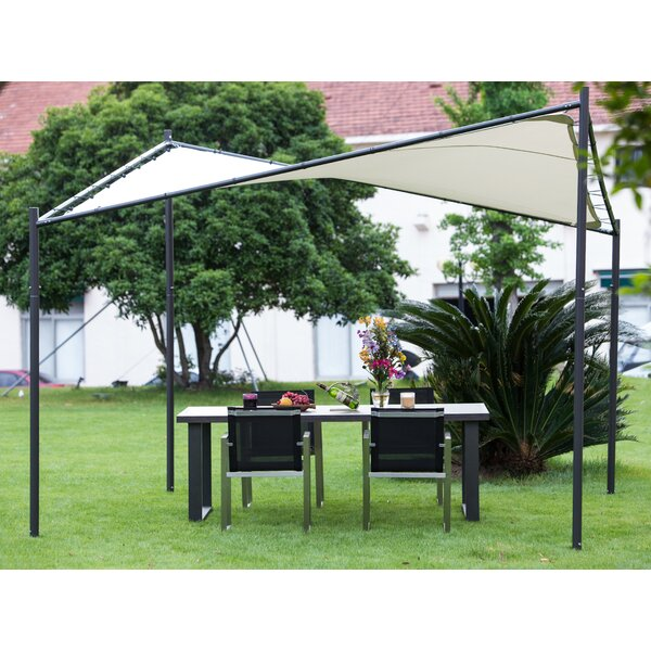 Butterfly 12 Ft. W x 12 Ft. D Steel Pop-Up Canopy by Abba Patio