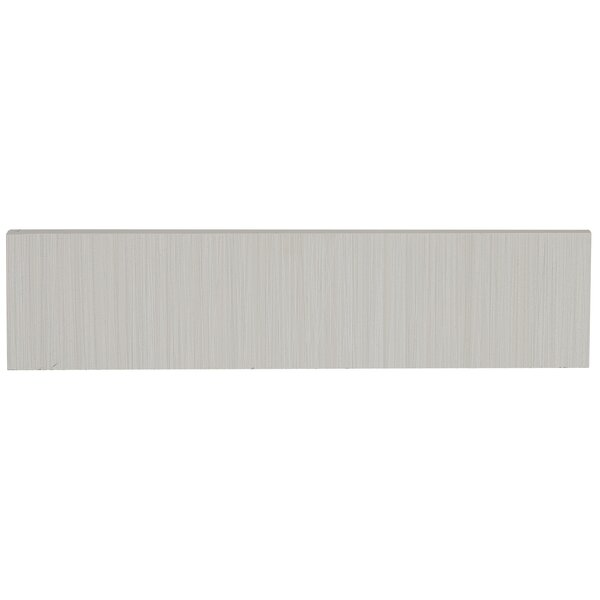 Fabrique 12 x 3 Porcelain Bullnose Tile Trim in Bl