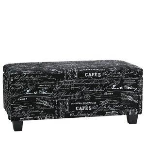 Mamet Wood Storage Bench by Cortesi Home