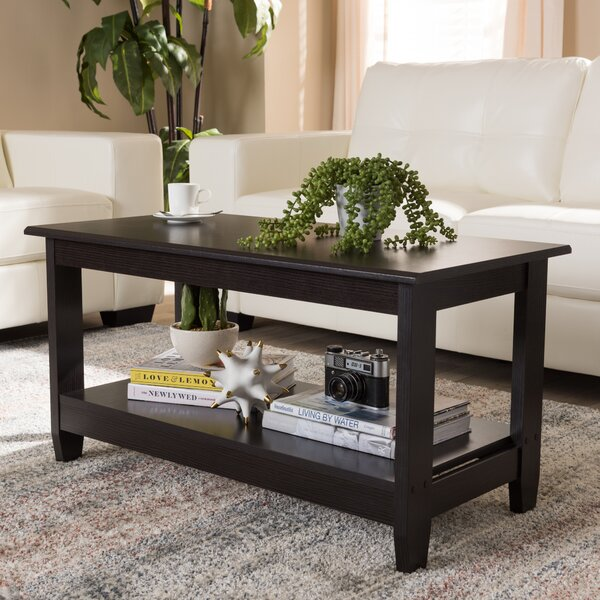 Perryman Coffee Table With Storage By Winston Porter
