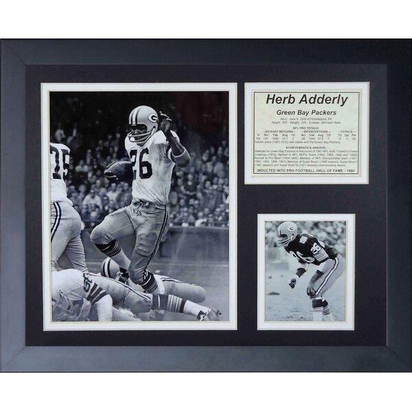 Herb Adderly Framed Memorabilia by Legends Never Die