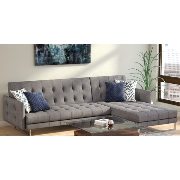 Jemima Right Hand Facing Sleeper Sectional By Wade Logan