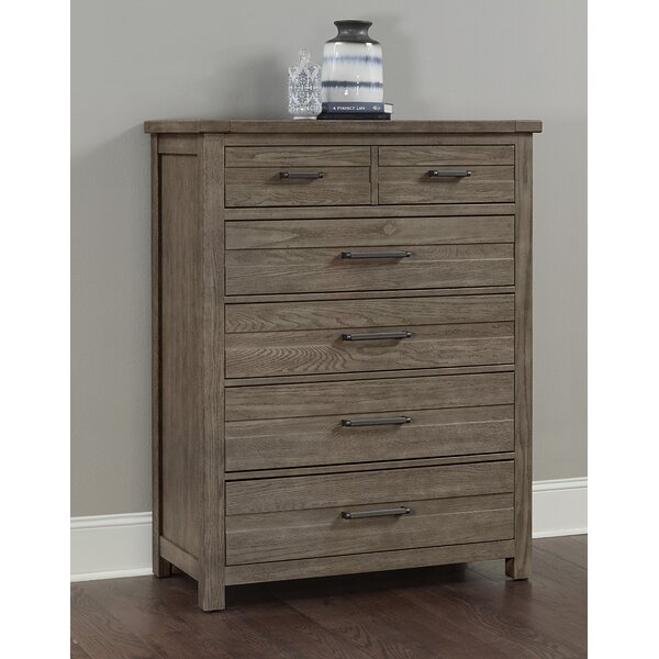 Rogalski 5 Drawer Chest by Canora Grey