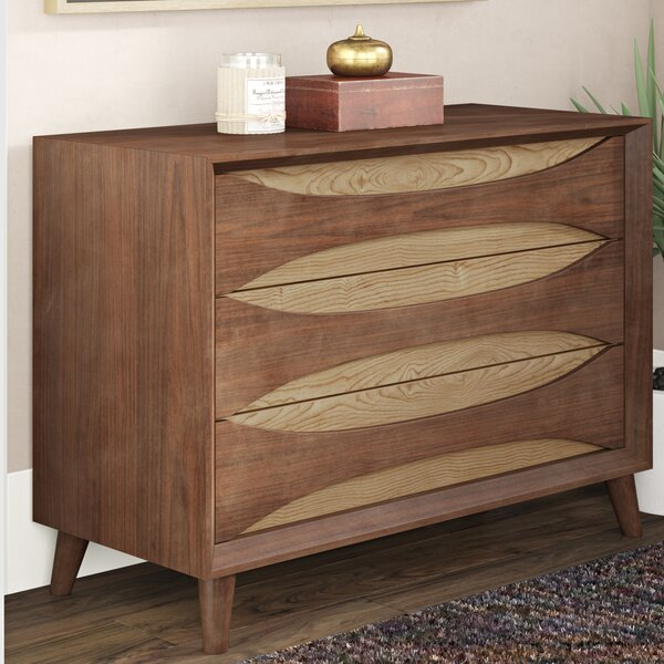 Jamal 3 Drawer Dresser by Corrigan Studio
