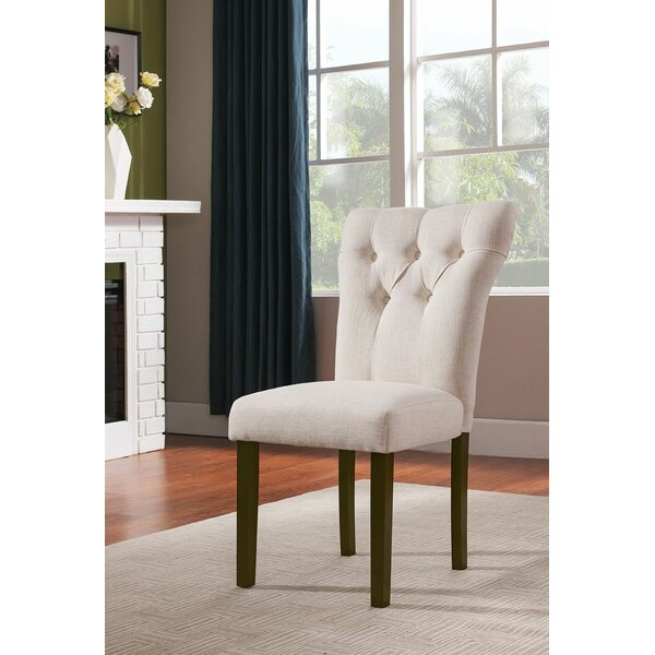 Lulsgate Upholstered Dining Chair (Set of 2) by Red Barrel Studio