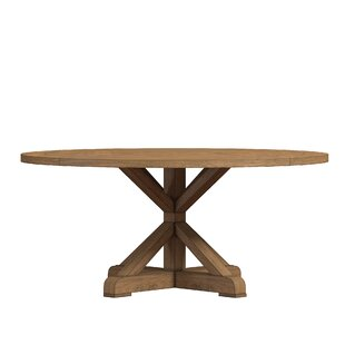 peralta round rustic dining table - Dining Table Round Wood
