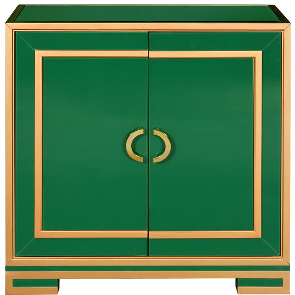 Thorold 2 Door Square Accent Cabinet By Bloomsbury Market