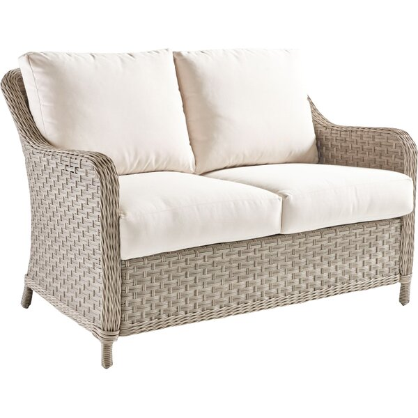 Keever Loveseat with Cushions by Darby Home Co Darby Home Co