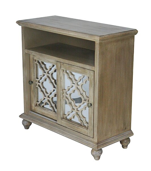 Nakayama 2 Door Accent Cabinet by Bungalow Rose Bungalow Rose