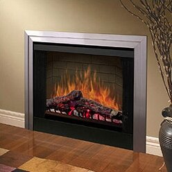 45 Glass Door for Built-In Electric Firebox by Dimplex