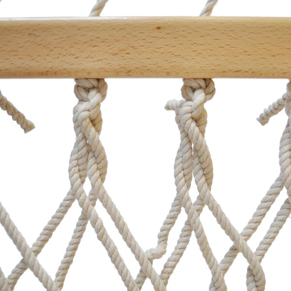 Rope Cotton Tree Hammock by Budge Industries