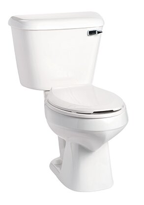 Alto 1.6 GPF Elongated Two-Piece Toilet by Mansfield Plumbing Products