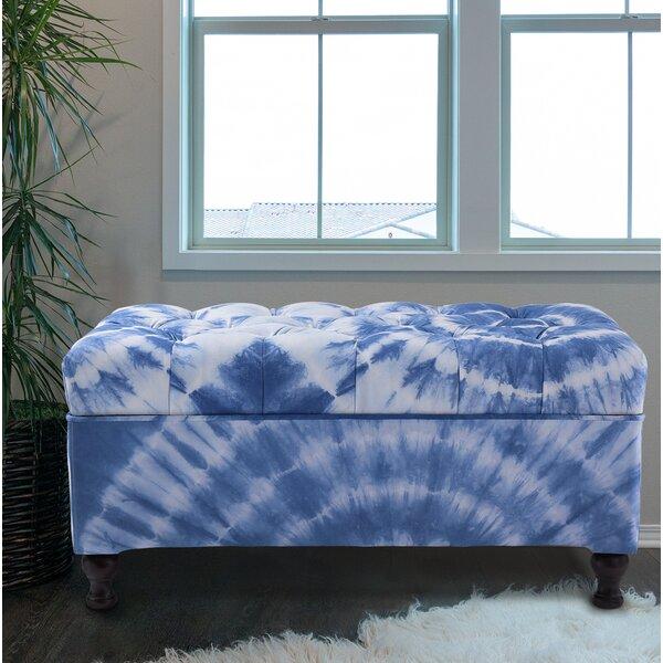 Belliveau Upholstered Storage Bench by Latitude Run