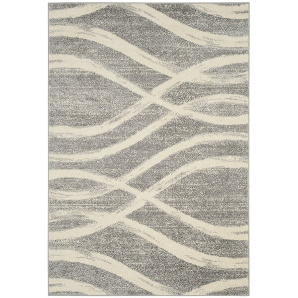 Marlee Gray/Cream Area Rug by Willa Arlo Interiors
