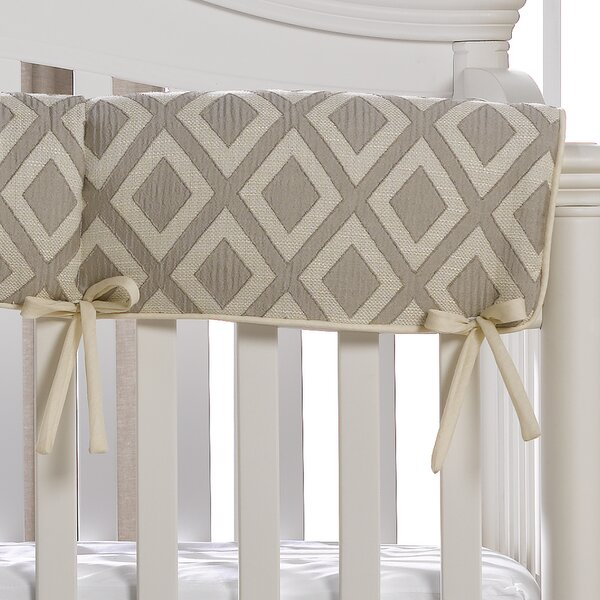 Browndell Crib Rail Guard Cover by Greyleigh