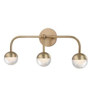 Reviews Raze 3-Light LED Vanity Light By Mercer41