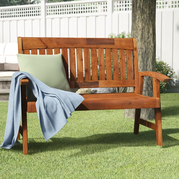 Gabbert Wooden Garden Bench by August Grove August Grove