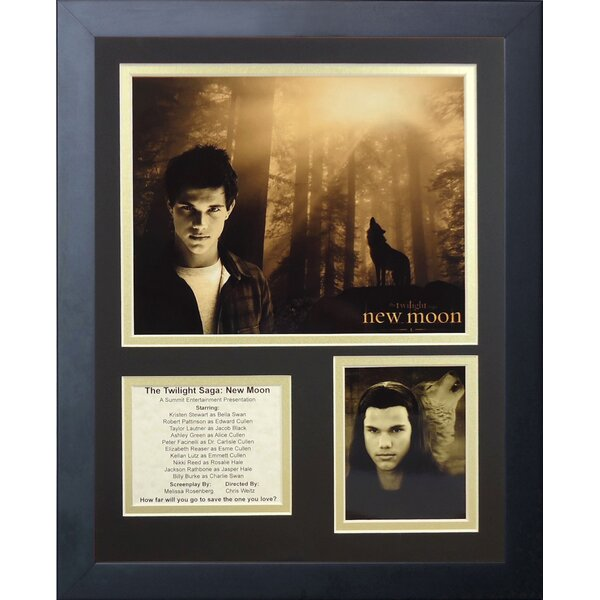 Twilight: New Moon Framed Memorabilia by Legends Never Die