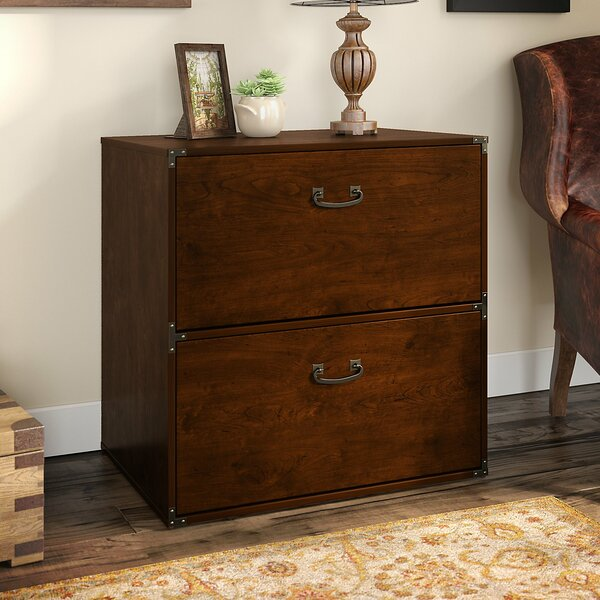 Ironworks 2-Drawer Lateral File by Kathy Ireland Office by Bush