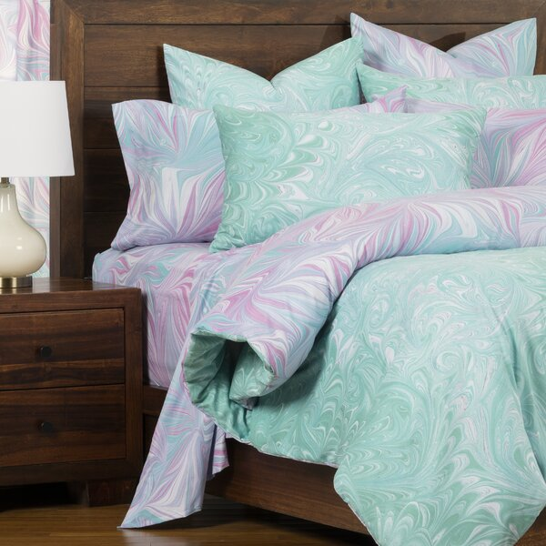 Verona Aquarius Reversible Duvet Cover & Insert Set