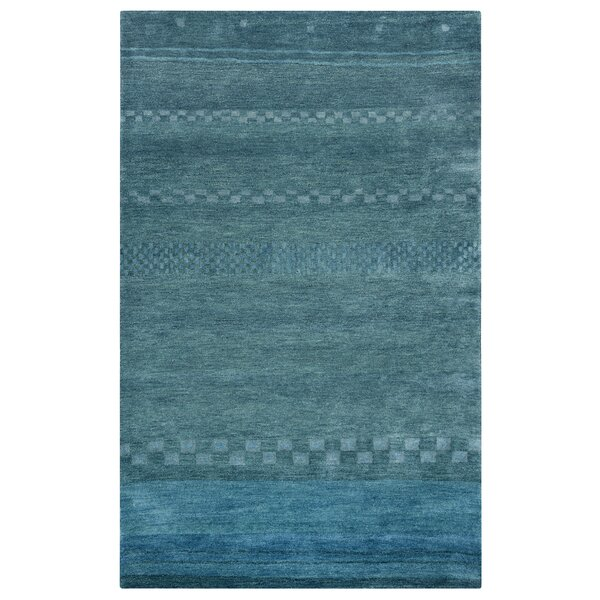 Barranquilla Hand-Tufted Blue Area Rug by Meridian Rugmakers