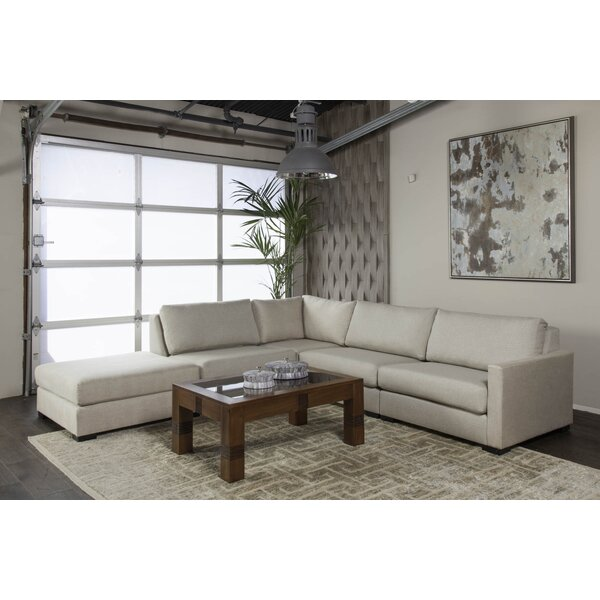 Secrest Plush Deep Modular Sectional with Ottoman by Brayden Studio
