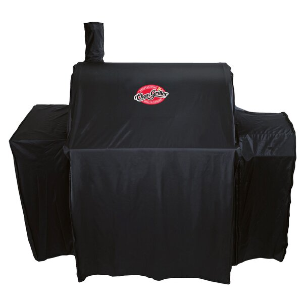Pro Deluxe Mid Size Charcoal Grill Cover - Fits up to 43 by Char-Griller